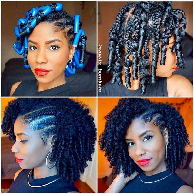 Easy diy natural hair styles 2