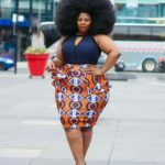 Plus size Ankara dresses