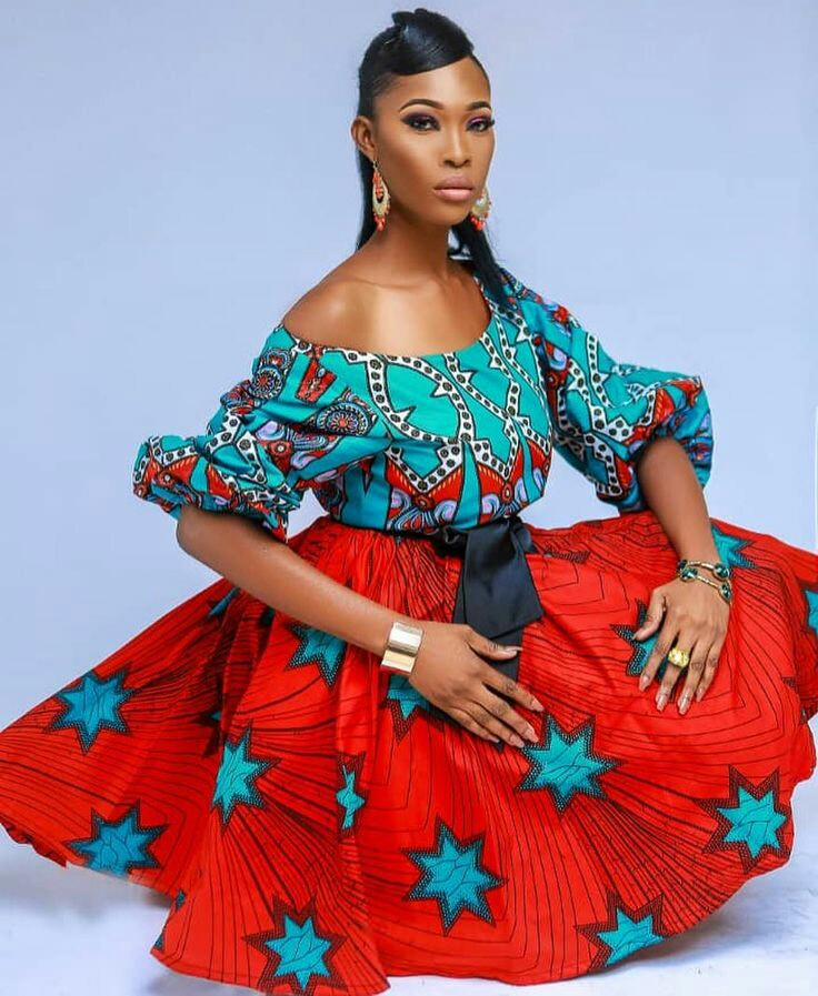 Ankara dress styles:Latest styles only
