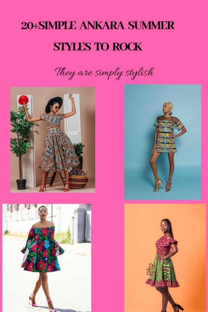 20+ANKARA SUMMER DRESS STYLES TO ROCK 2019 2