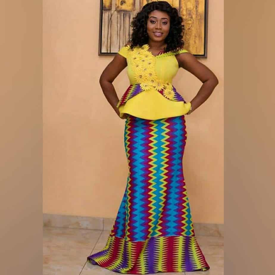 THE BEST AND STYLISH KENTE STYLES IN 2019 40