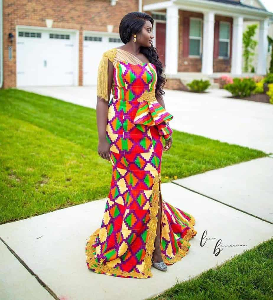 THE BEST AND STYLISH KENTE STYLES IN 2019 30