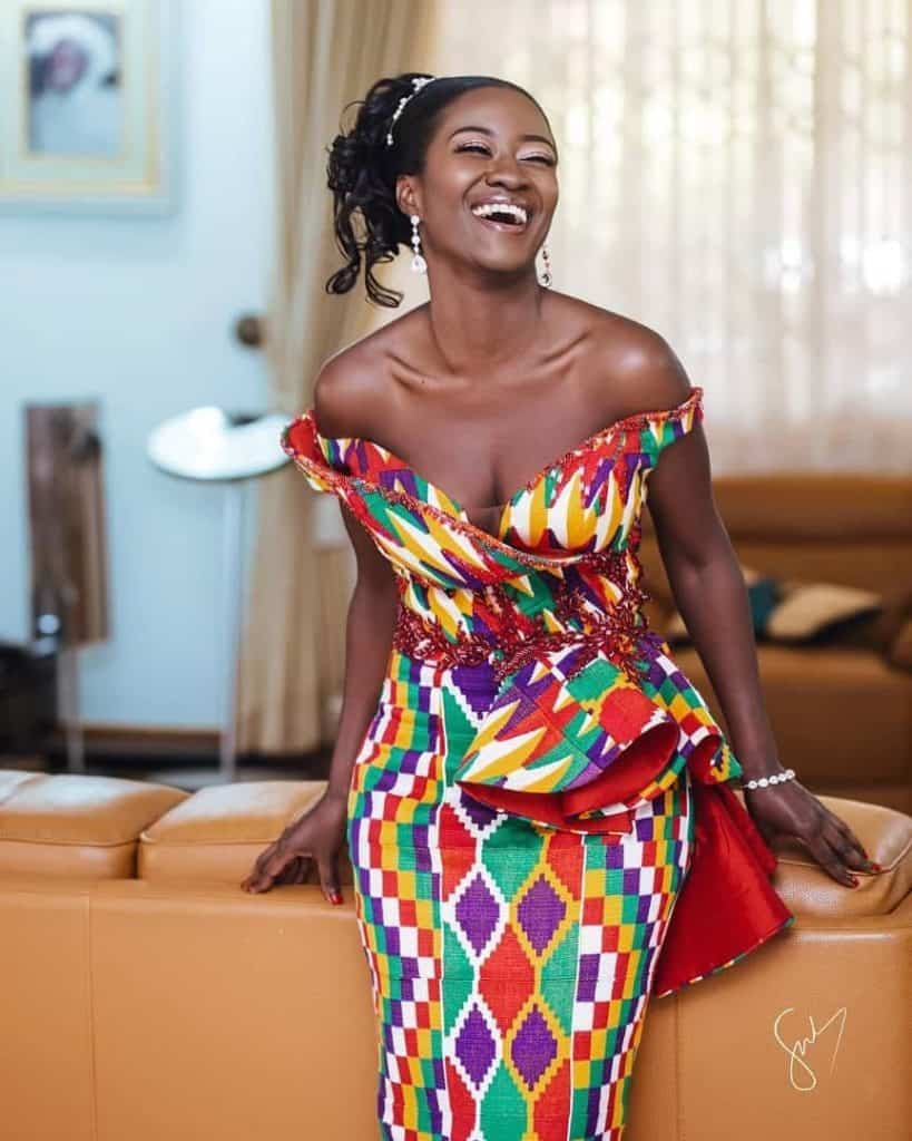 THE BEST AND STYLISH KENTE STYLES IN 2019 35