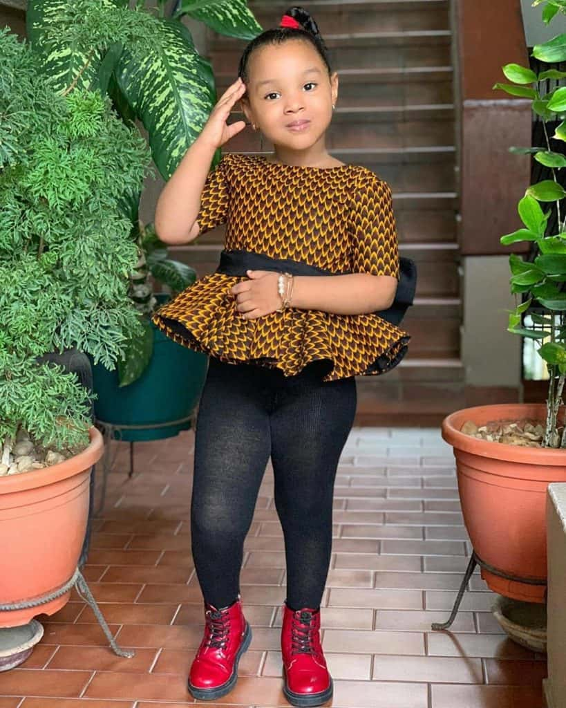 Ankara styles for children