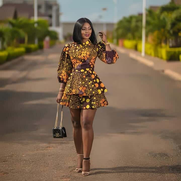African ankara fashion dress styles