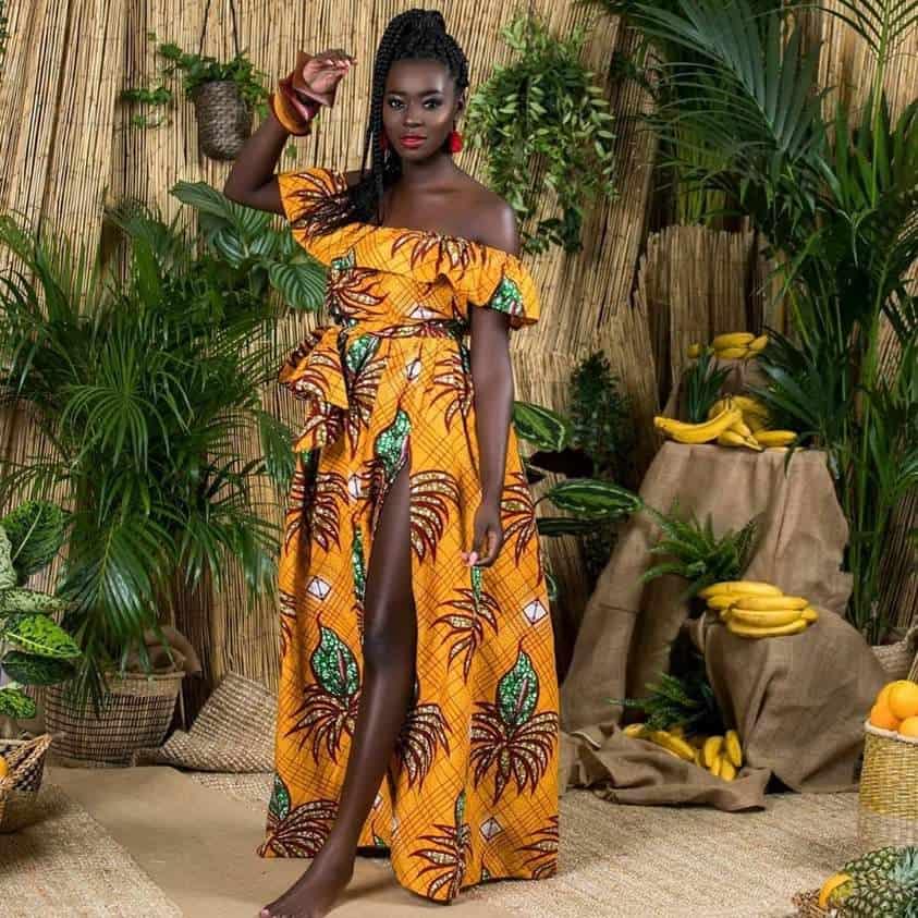 Kitenge dress style