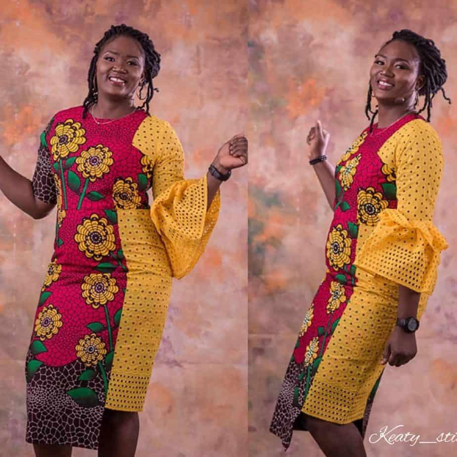 20 AWESOME ANKARA LACE DRESS STYLES 2019 6