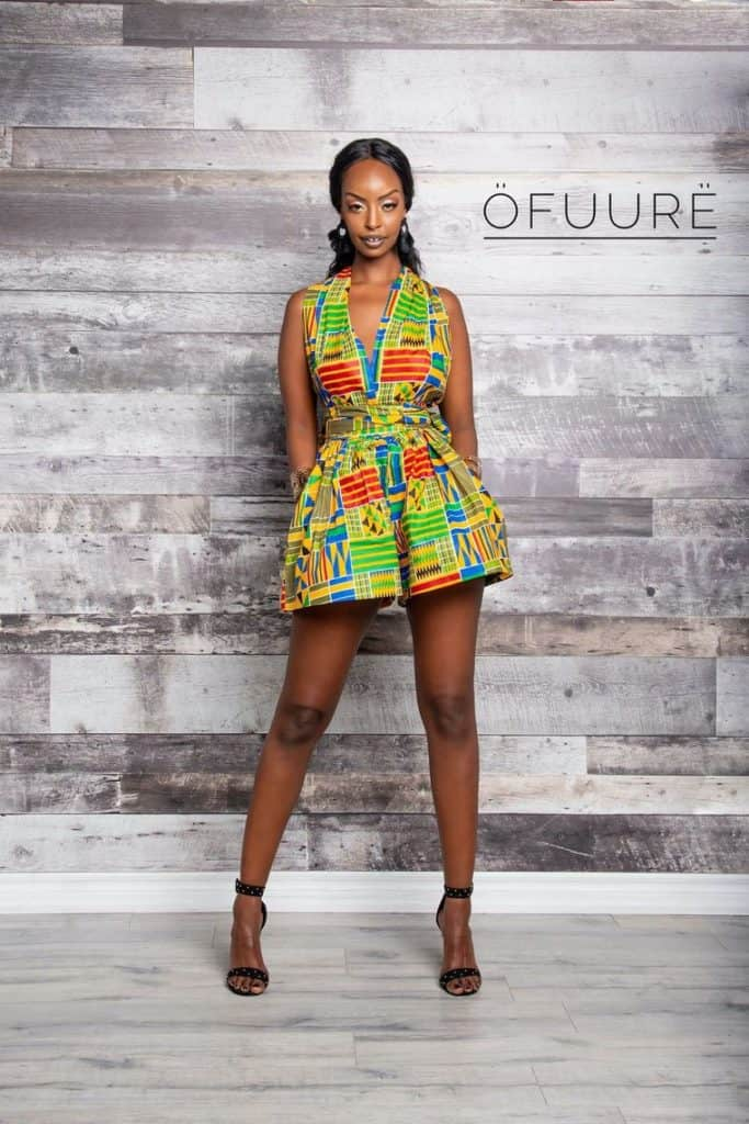 Dresses with african print