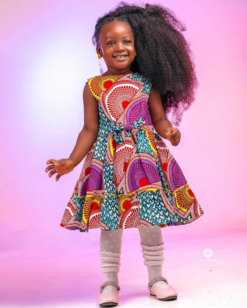 Children ankara styles