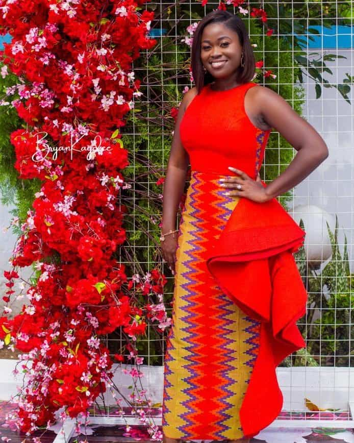 THE BEST AND STYLISH KENTE STYLES IN 2019 19