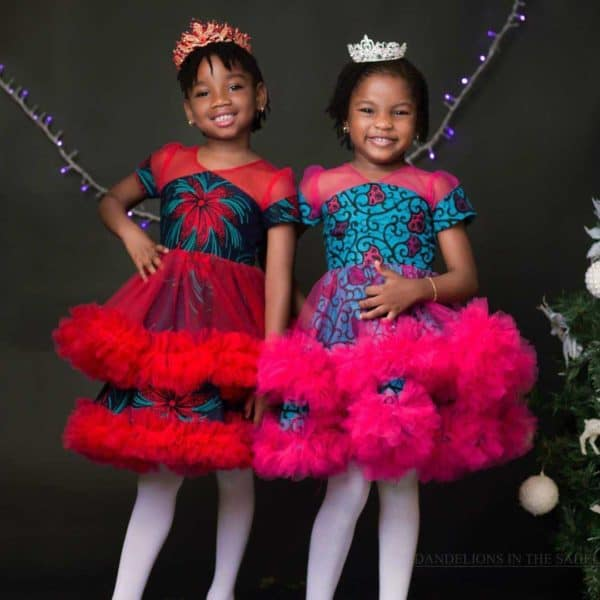 Latest ankara styles for girl child