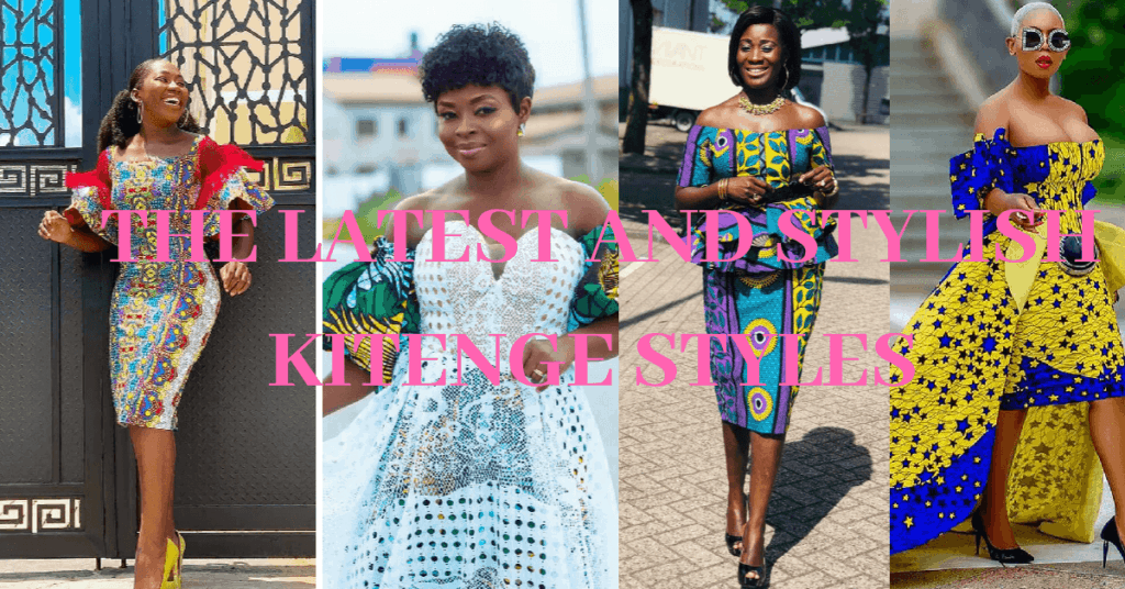 BEST AND STYLISH KITENGE STYLES 2019