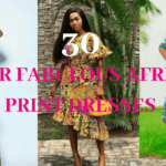 African Print Dresses|African Print Dress Styles