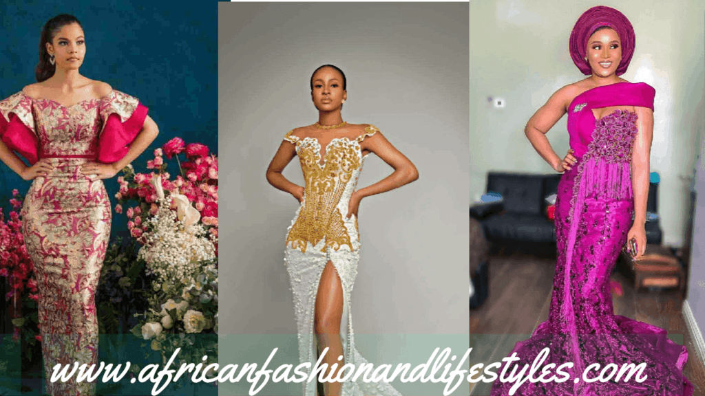 LATEST AND TRENDING NIGERIAN LACE STYLES 2019 1