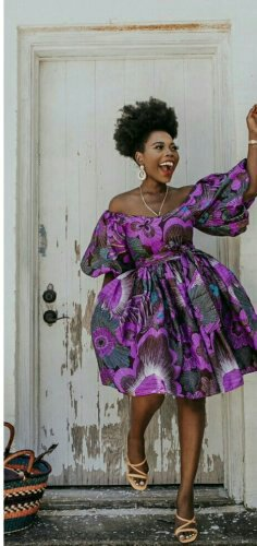 Women African clothing dress style