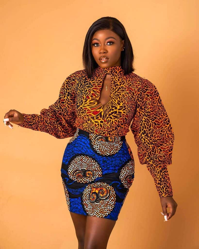 African skirts online