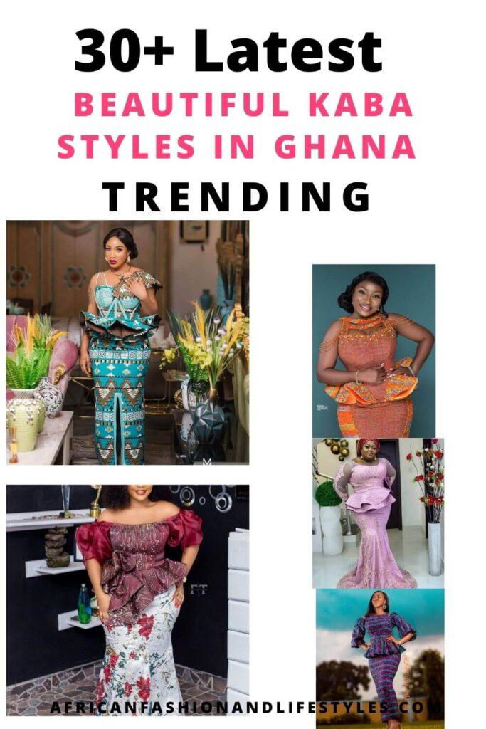30+ Latest Kaba Styles In Ghana