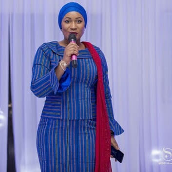 Samira Bawumia kaba styles