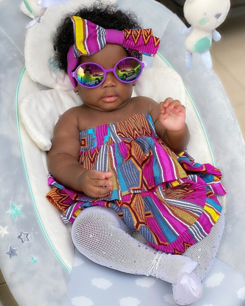 Children Ankara style for baby