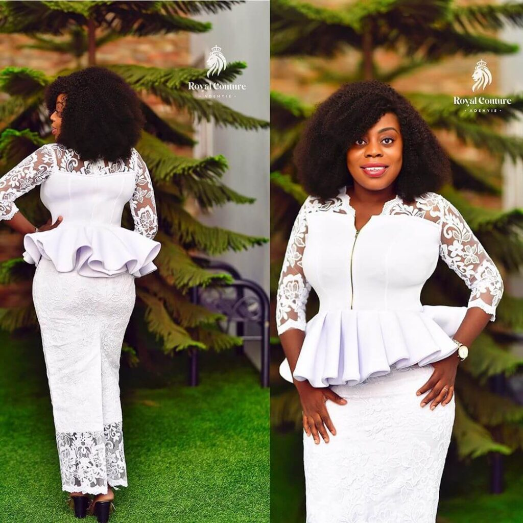 Lace kaba styles for engagement