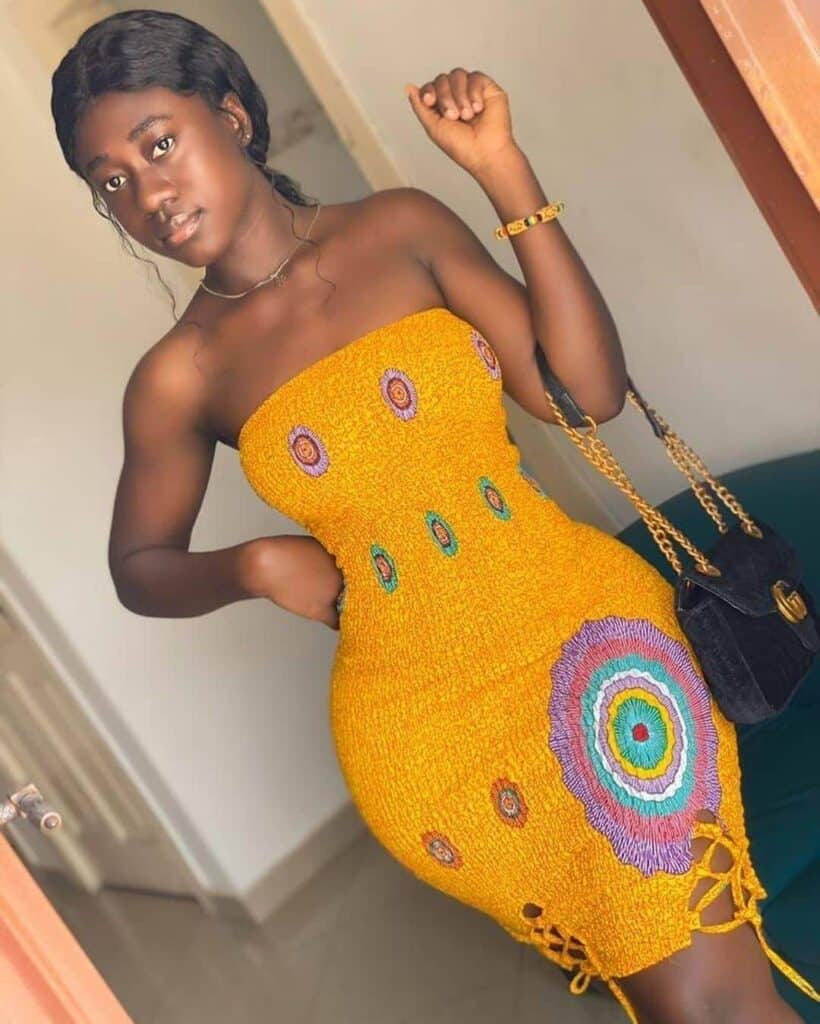 African straight dresses
