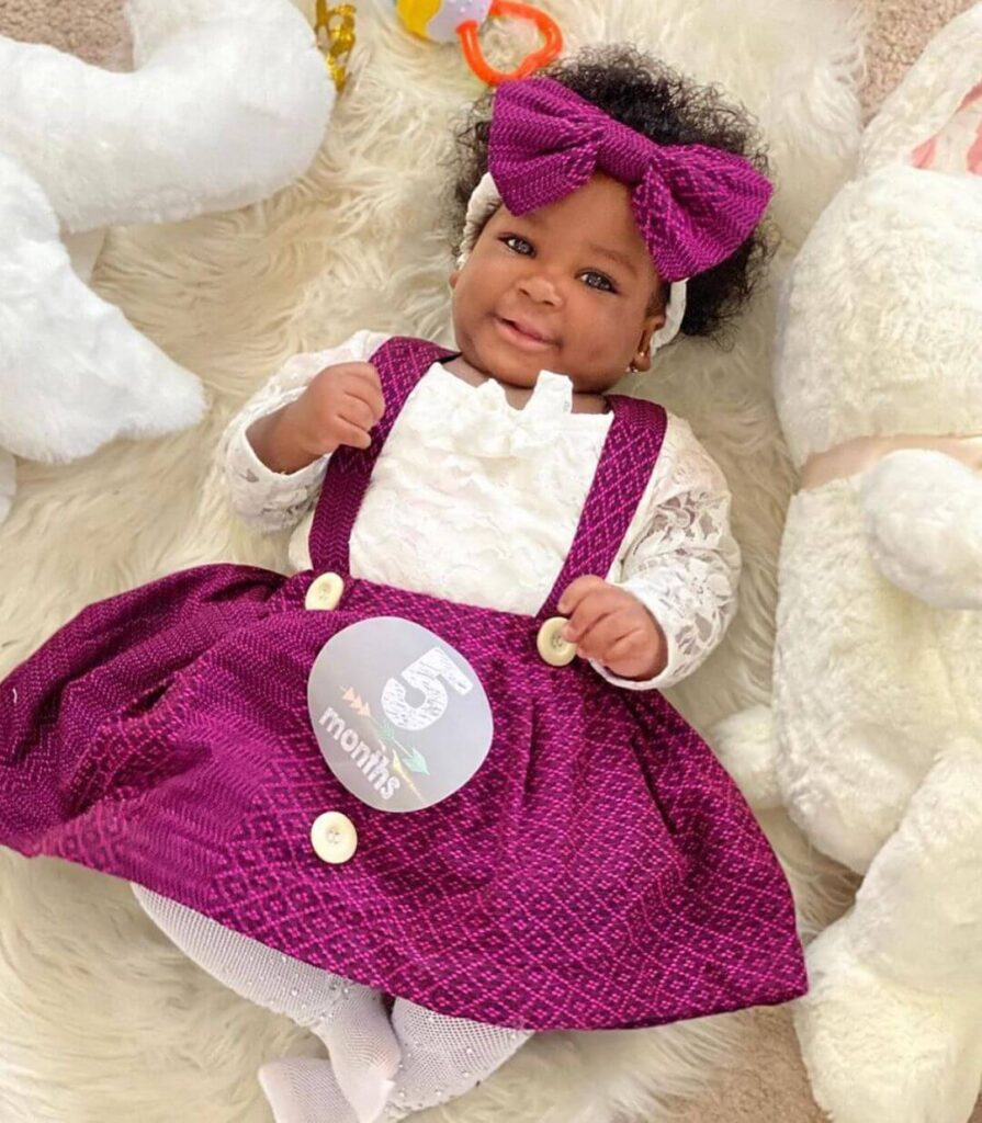 Ankara style for baby girl