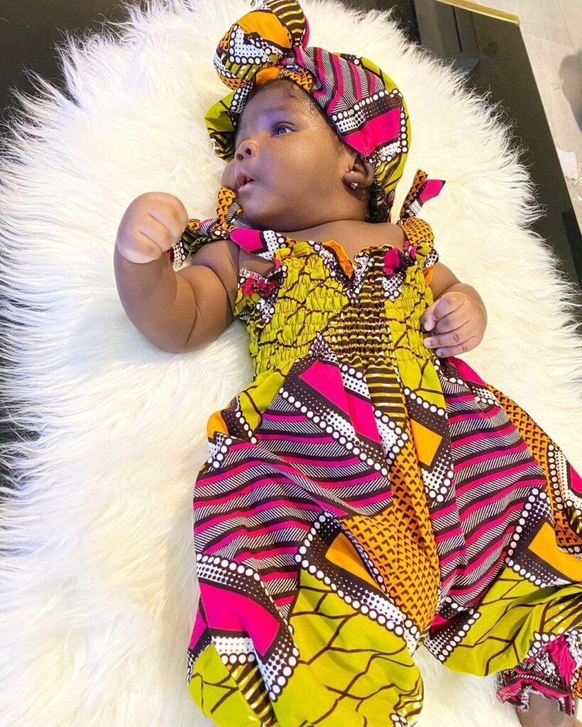 Ankara style for baby girl 2020