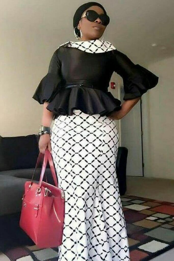 Latest kaba styles for funeral