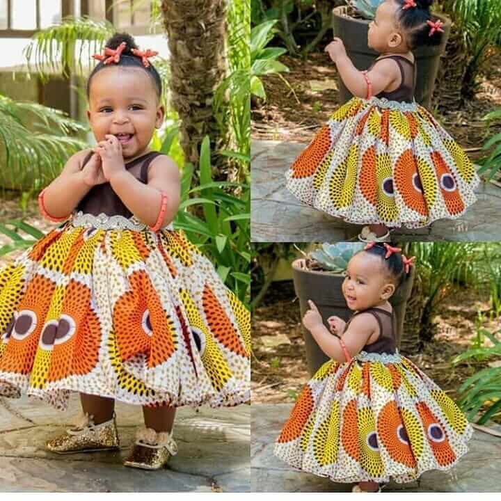 Children gown styles