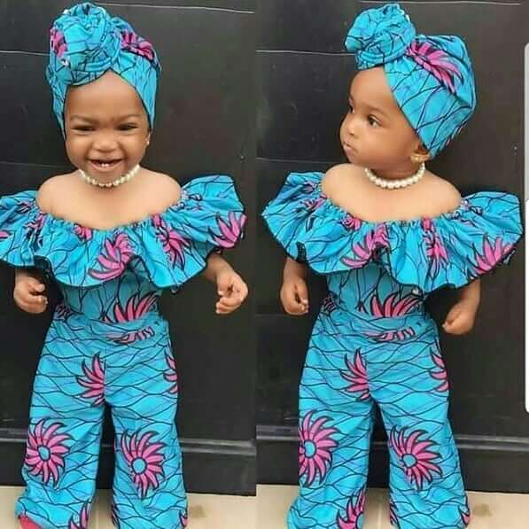 Ankara styles for girl kid
