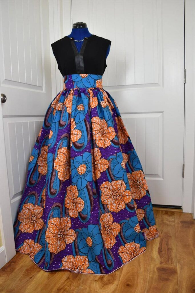 African print skirts online