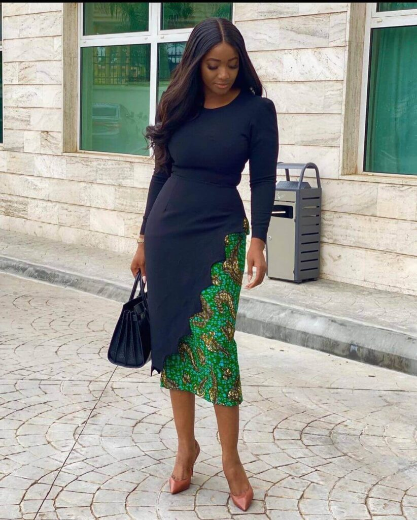 Straight dress styles for office